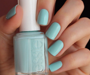 mint, nail art, and nails image