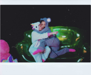 ariana grande, miley cyrus, and friends image