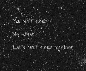 cant sleep, love, and couples image