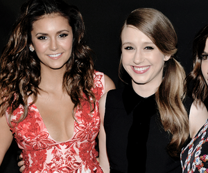 Nina Dobrev and taissa farmiga image