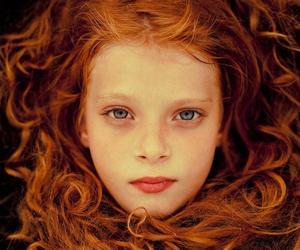 girl, hair, and redhead image