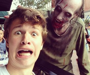 ansel elgort, zombie, and ansel image