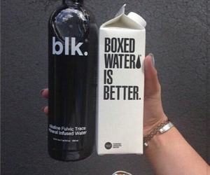 blk, tumblr, and water image