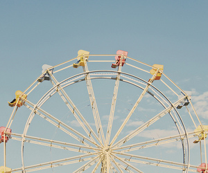 carnival, ferris wheel, and photography image