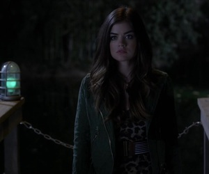 lucy hale, lucian, and pretty little liars image
