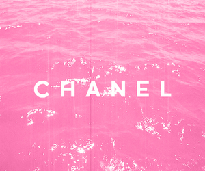chanel, pink, and water image