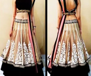indian and dress image