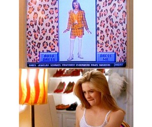 alicia silverstone, closet, and Clueless image