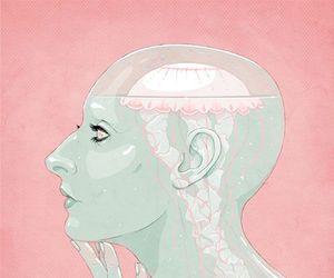 art, jellyfish, and illustration image