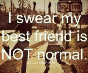 best friends, normal, and quote image