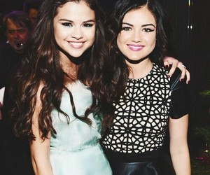 Selena Gomes and lucy hale image