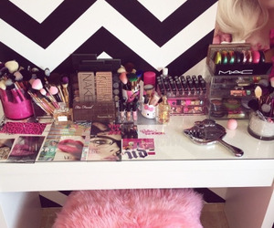 beauty, pink, and cosmetics image