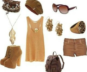 brown, fashion, and bracelet image