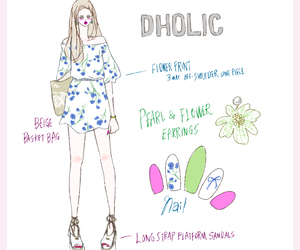 fashion, nail, and outfit image