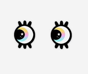 cartoon, kawaii, and eyes image