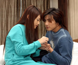 mike he, love, and rainie yang image