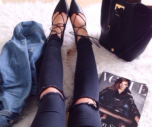 closet, details, and jeans image