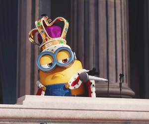 minions and king image