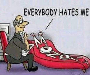 monday, funny, and hate image