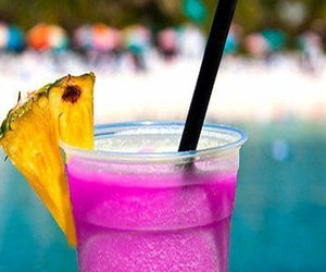 drink, girly, and pink image