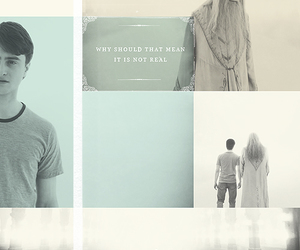 albus dumbledore, the deathly hallows, and dh2 image