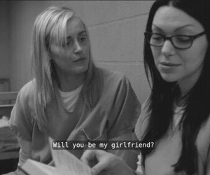 orange is the new black, oitnb, and girlfriend image