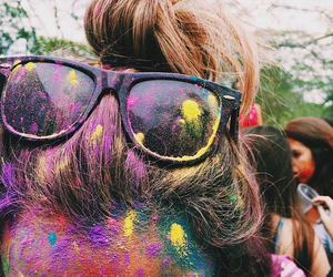colors, colorful, and hair image