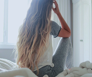 cool, hair, and long hair image