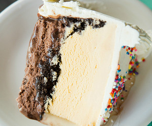 cake, food, and ice cream image
