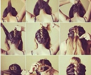 Easy, hair, and diy image