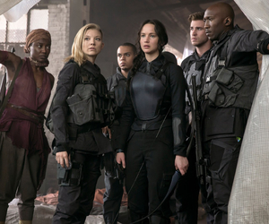 mockingjay, the hunger games, and Jennifer Lawrence image
