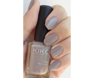 cosmetics, long nails, and Nude image