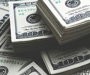 money, rich, and cash image