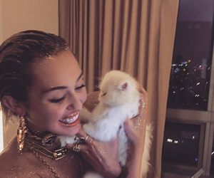 cute and miley cyrus image