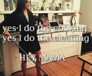cleaning, cooking, and hey image