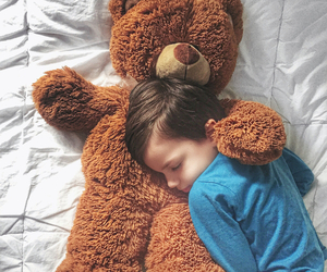baby, kids, and bear image