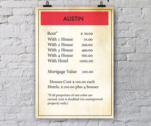 Austin, etsy, and home decor image