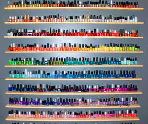 nails, nail polish, and colors image