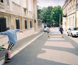 skate, guys, and vintage image