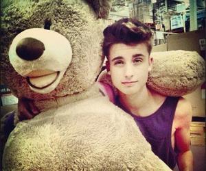 boy, bear, and Hot image