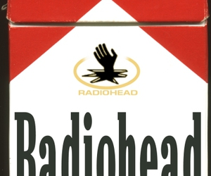 cigarette, radiohead, and music image