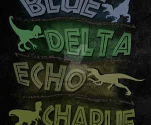 blue, charlie, and DELTA image
