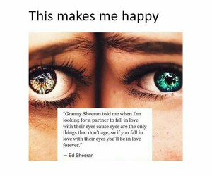 love, eyes, and ed sheeran image