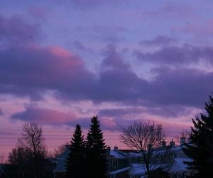 sky, pink, and beautiful image
