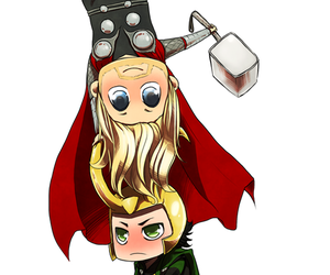 Avengers, brother, and chris hemsworth image