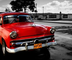 beautiful, car, and old image