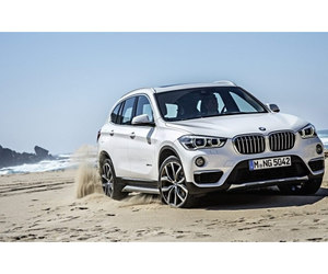 bmw and SUV image