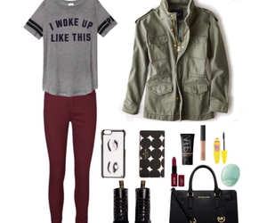 outfit, Polyvore, and winter image