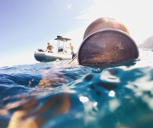 adventure, bikini, and boat image