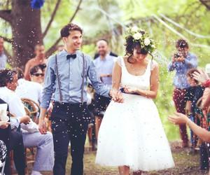 wedding and brideandgroom image